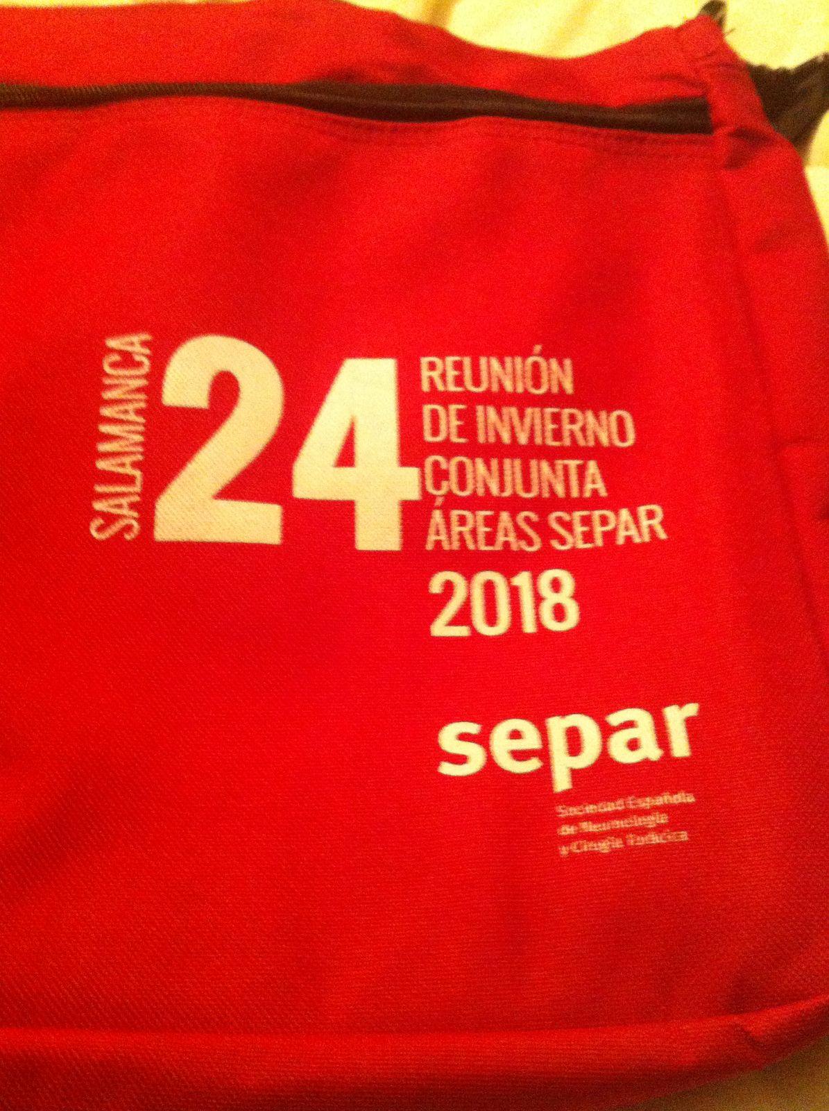 Reunión de Invierno de SEPAR en Salamanca