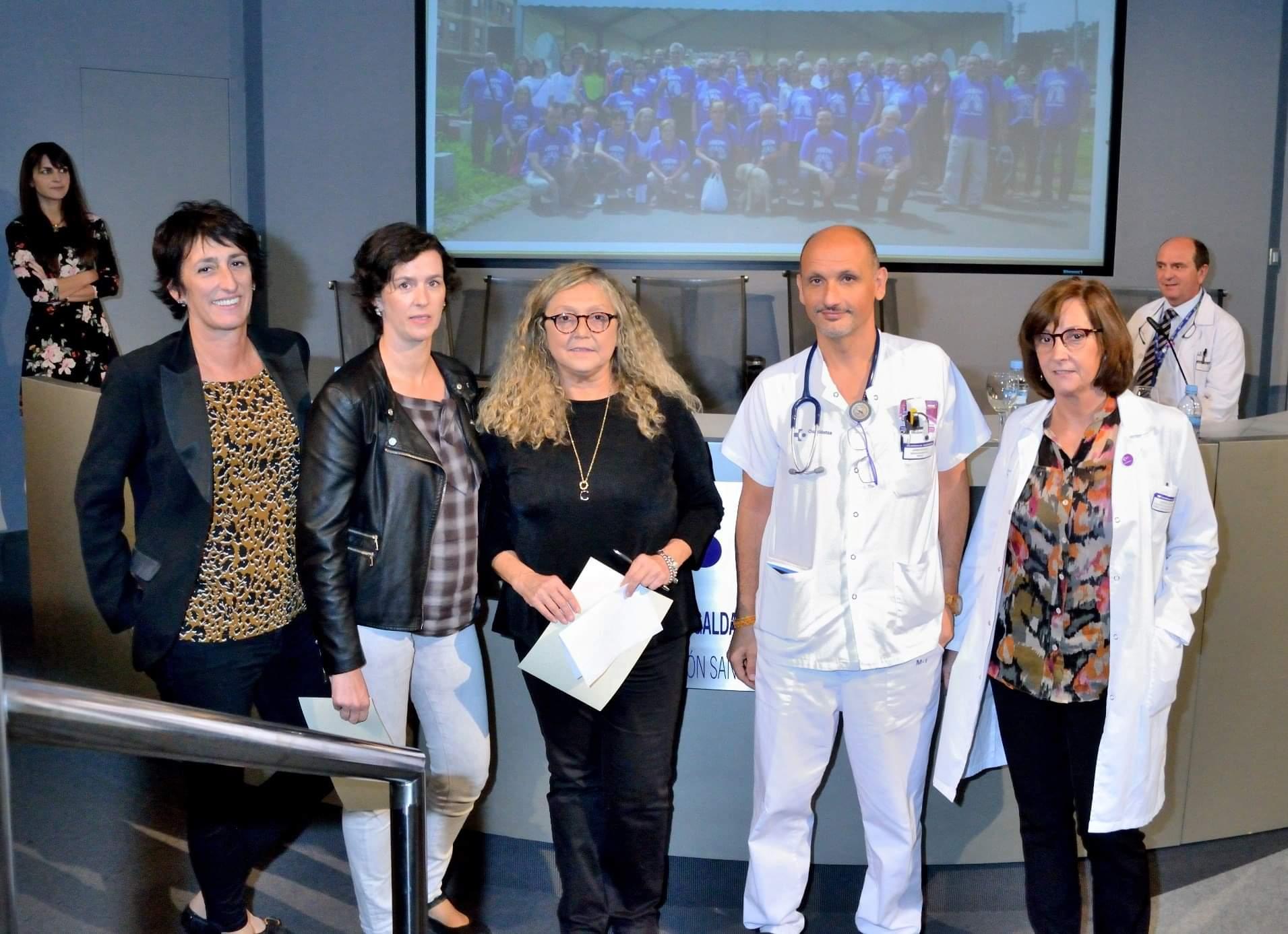 Reconocimiento público del Servicio Vasco de Salud a la asociación ASBIEPOC