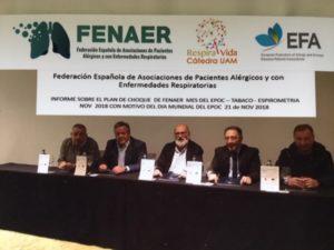 EPOC, TABACO Y ESPIROMETRIA DE FENAER