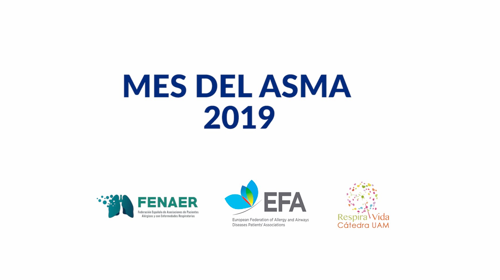 FENAER organiza el Mes del ASMA 2019 como ampliación al Día Mundial de esta enfermedad
