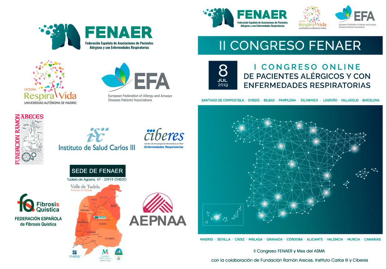 Programa Congreso online FENAER 8 julio 2019