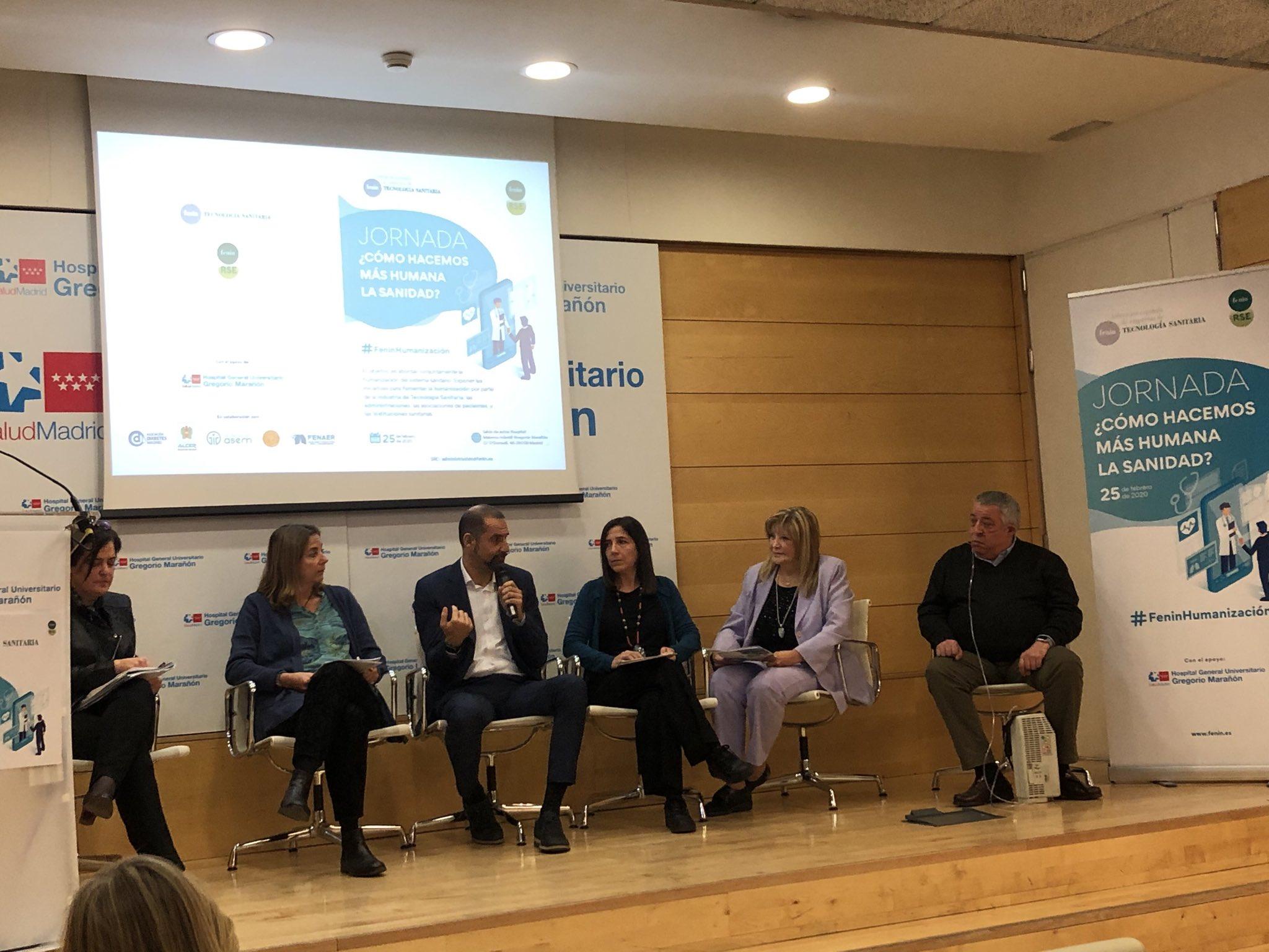 FENAER, en la jornada sobre humanización de la Sanidad organizada por Fenin