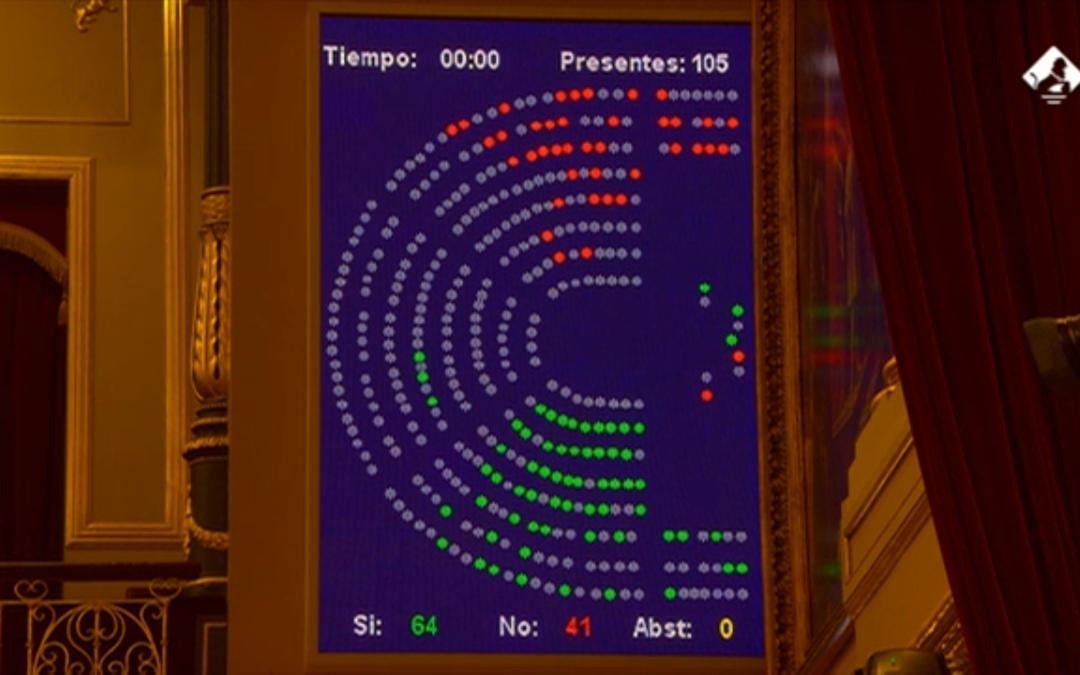 El Congreso suprime temporalmente el visado para la triple terapia de la epoc