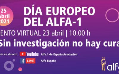 Sigue la sesión sobre DAAT en el Día Europeo del Alfa-1
