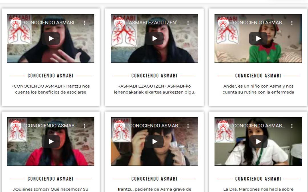 Asmabi Bizkaia lanza una campaña de visibilidad del asma y de los beneficios de asociarse