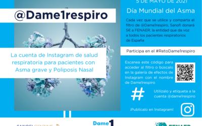 Sanofi y David Meca animan a soplar una vela digital en Instagram por los pacientes de asma