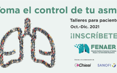 Fenaer organiza talleres sobre asma para pacientes y de comunicación para asociaciones