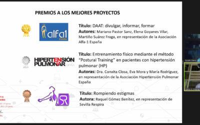 Tres asociaciones integrantes de Fenaer, premio a los mejores proyectos en el congreso de Separ Pacientes
